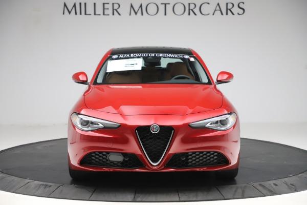 New 2019 Alfa Romeo Giulia Ti Lusso Q4 for sale Sold at Aston Martin of Greenwich in Greenwich CT 06830 12