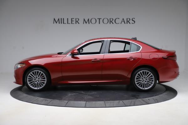 New 2019 Alfa Romeo Giulia Ti Lusso Q4 for sale Sold at Aston Martin of Greenwich in Greenwich CT 06830 3