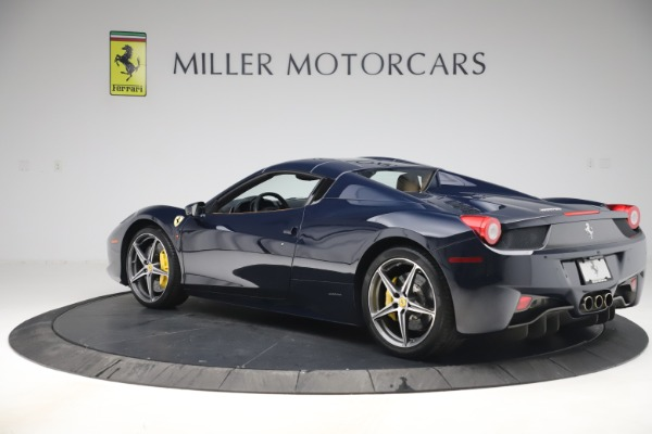 Used 2012 Ferrari 458 Spider for sale Sold at Aston Martin of Greenwich in Greenwich CT 06830 15