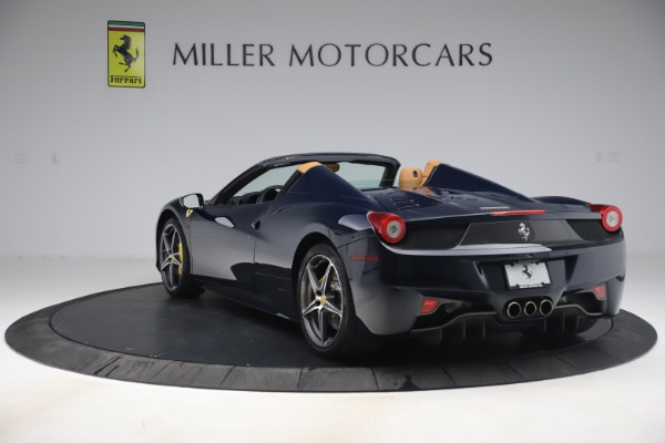 Used 2012 Ferrari 458 Spider for sale $194,900 at Aston Martin of Greenwich in Greenwich CT 06830 5