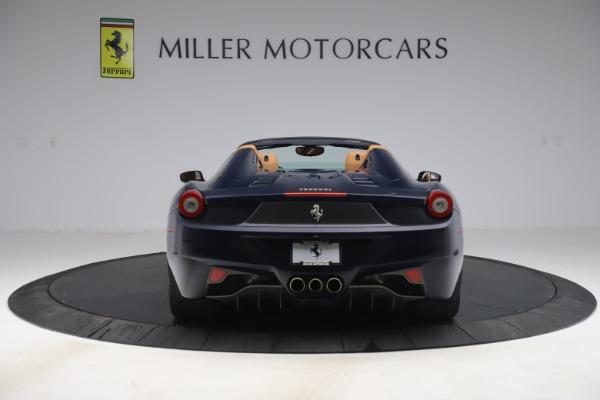 Used 2012 Ferrari 458 Spider for sale $194,900 at Aston Martin of Greenwich in Greenwich CT 06830 6