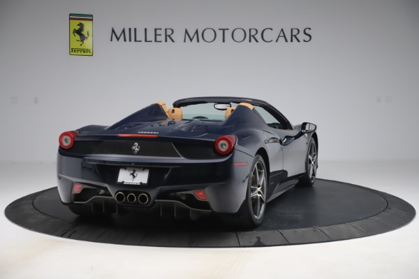 Used 2012 Ferrari 458 Spider for sale Sold at Aston Martin of Greenwich in Greenwich CT 06830 7