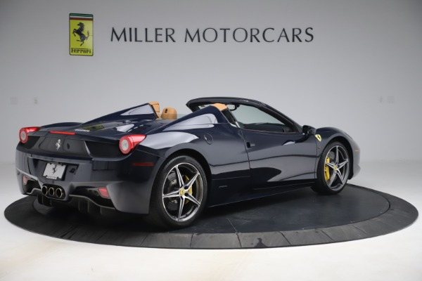 Used 2012 Ferrari 458 Spider for sale Sold at Aston Martin of Greenwich in Greenwich CT 06830 8