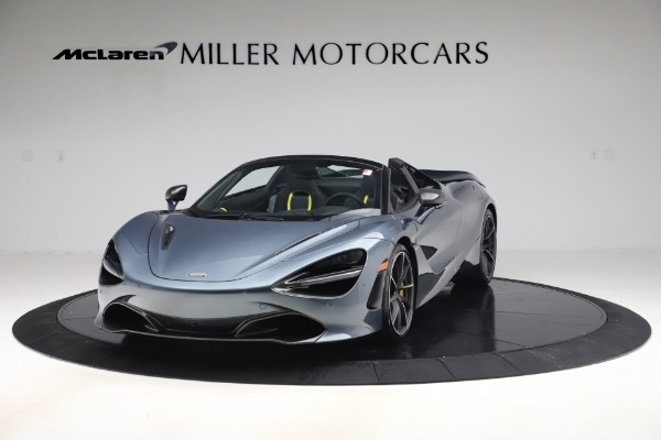 Used 2020 McLaren 720S Spider Convertible for sale Sold at Aston Martin of Greenwich in Greenwich CT 06830 2