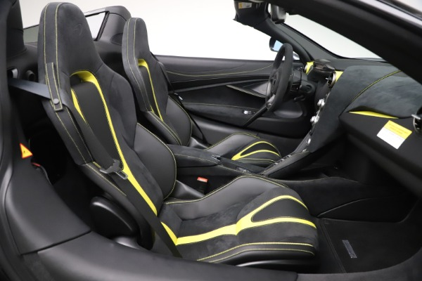 Used 2020 McLaren 720S Spider Convertible for sale Sold at Aston Martin of Greenwich in Greenwich CT 06830 25