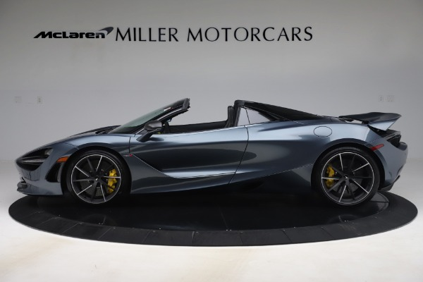 Used 2020 McLaren 720S Spider Convertible for sale Sold at Aston Martin of Greenwich in Greenwich CT 06830 3