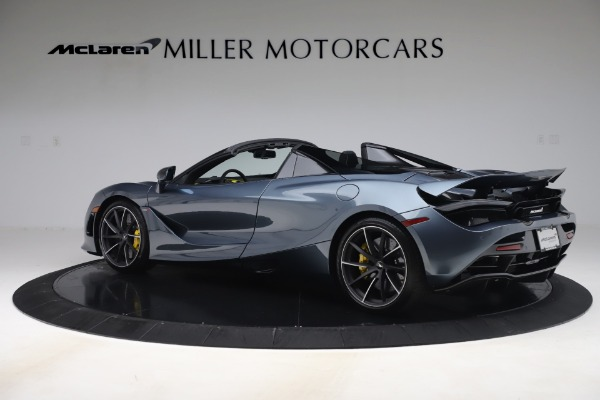 Used 2020 McLaren 720S Spider Convertible for sale Sold at Aston Martin of Greenwich in Greenwich CT 06830 4
