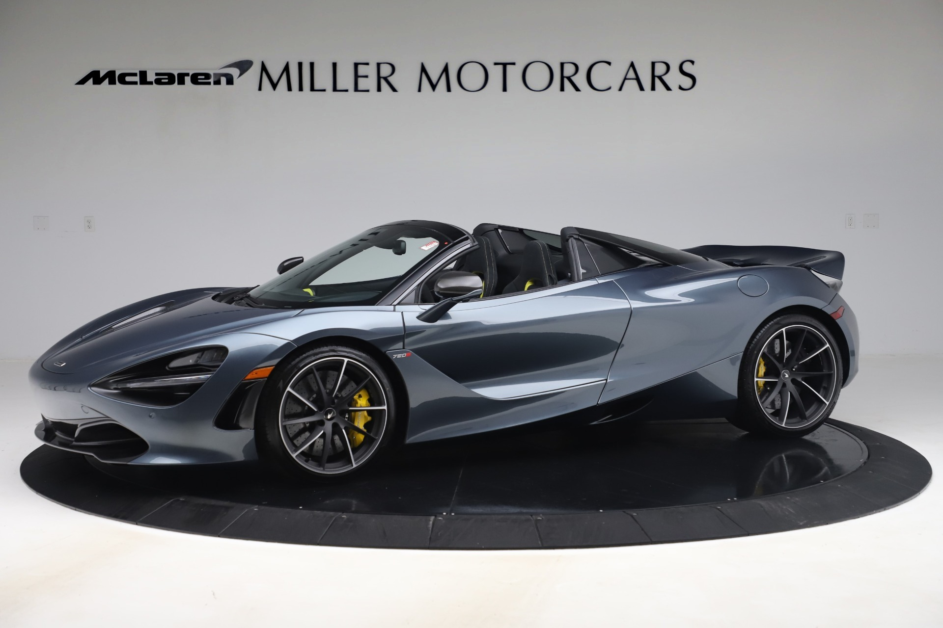 Used 2020 McLaren 720S Spider Convertible for sale Sold at Aston Martin of Greenwich in Greenwich CT 06830 1