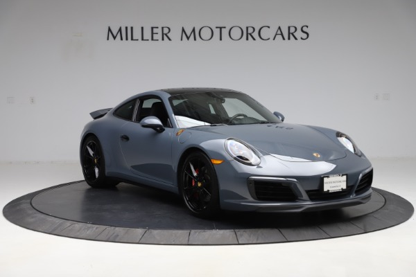 Used 2018 Porsche 911 Carrera 4S for sale $109,900 at Aston Martin of Greenwich in Greenwich CT 06830 11