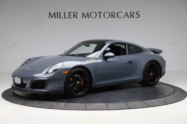 Used 2018 Porsche 911 Carrera 4S for sale $109,900 at Aston Martin of Greenwich in Greenwich CT 06830 2