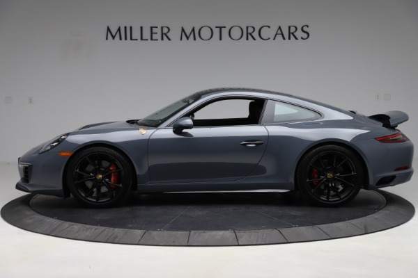 Used 2018 Porsche 911 Carrera 4S for sale $109,900 at Aston Martin of Greenwich in Greenwich CT 06830 3