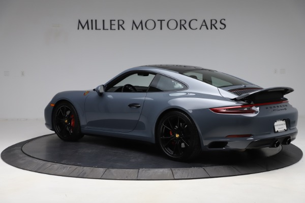 Used 2018 Porsche 911 Carrera 4S for sale $109,900 at Aston Martin of Greenwich in Greenwich CT 06830 4