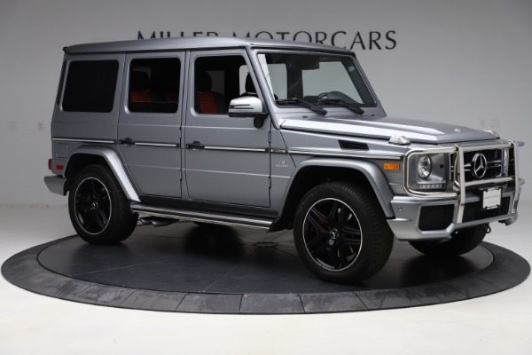 Used 2018 Mercedes-Benz G-Class AMG G 63 for sale Call for price at Aston Martin of Greenwich in Greenwich CT 06830 10