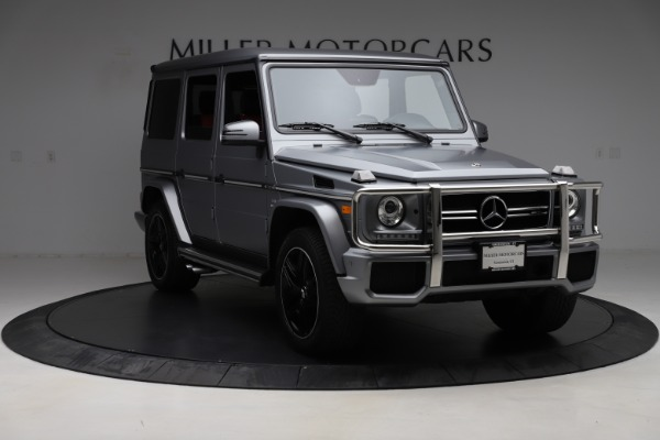 Used 2018 Mercedes-Benz G-Class AMG G 63 for sale Call for price at Aston Martin of Greenwich in Greenwich CT 06830 11