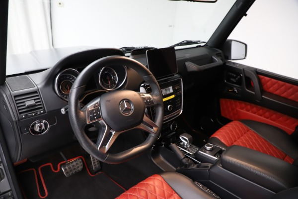 Used 2018 Mercedes-Benz G-Class AMG G 63 for sale Call for price at Aston Martin of Greenwich in Greenwich CT 06830 14