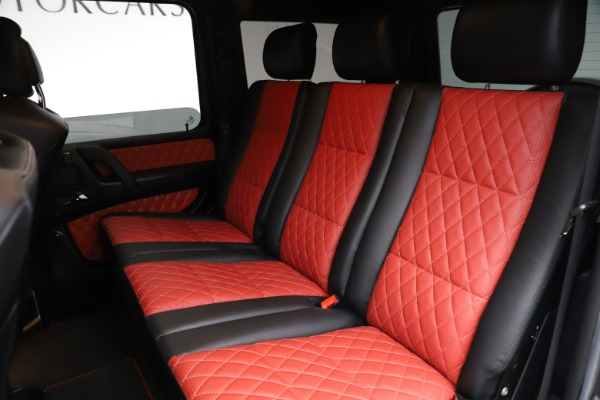 Used 2018 Mercedes-Benz G-Class AMG G 63 for sale Call for price at Aston Martin of Greenwich in Greenwich CT 06830 17
