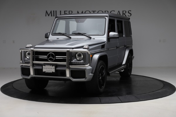 Used 2018 Mercedes-Benz G-Class AMG G 63 for sale Call for price at Aston Martin of Greenwich in Greenwich CT 06830 2
