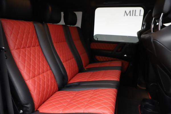 Used 2018 Mercedes-Benz G-Class AMG G 63 for sale Call for price at Aston Martin of Greenwich in Greenwich CT 06830 21