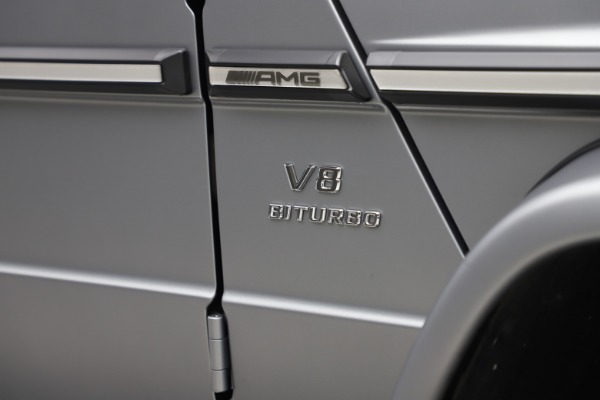 Used 2018 Mercedes-Benz G-Class AMG G 63 for sale Call for price at Aston Martin of Greenwich in Greenwich CT 06830 27