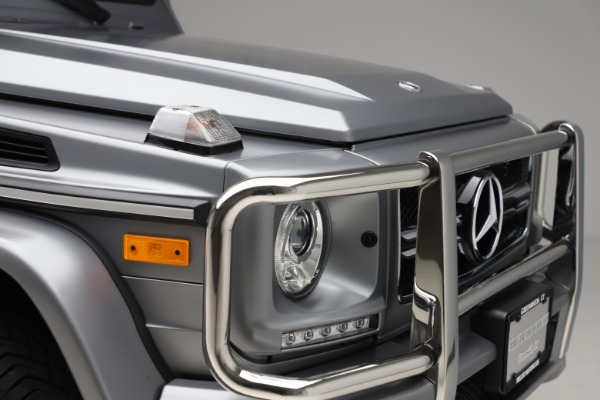 Used 2018 Mercedes-Benz G-Class AMG G 63 for sale Call for price at Aston Martin of Greenwich in Greenwich CT 06830 28