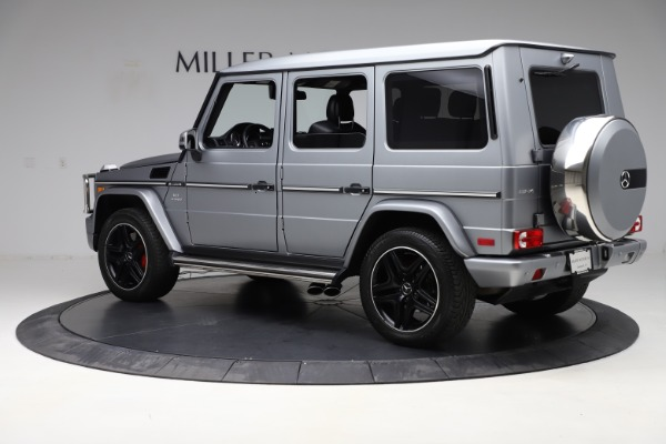 Used 2018 Mercedes-Benz G-Class AMG G 63 for sale Call for price at Aston Martin of Greenwich in Greenwich CT 06830 4