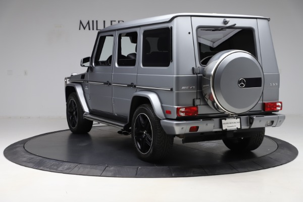 Used 2018 Mercedes-Benz G-Class AMG G 63 for sale Call for price at Aston Martin of Greenwich in Greenwich CT 06830 5