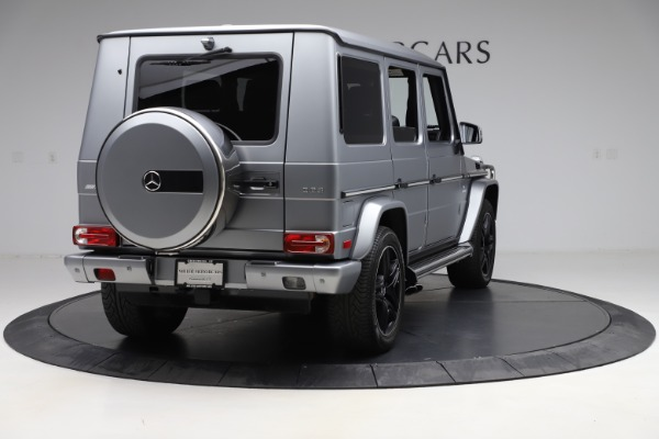 Used 2018 Mercedes-Benz G-Class AMG G 63 for sale Call for price at Aston Martin of Greenwich in Greenwich CT 06830 7