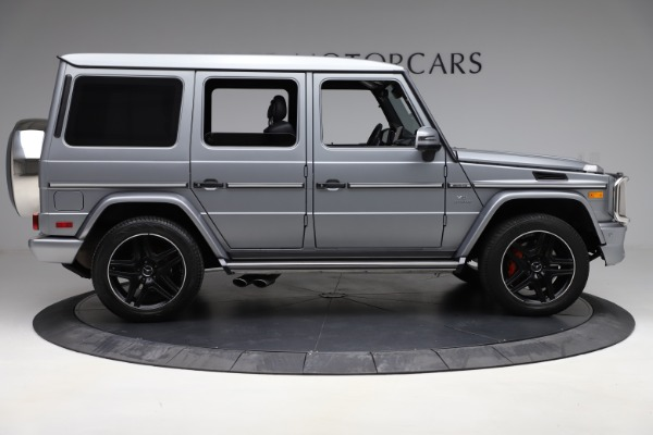 Used 2018 Mercedes-Benz G-Class AMG G 63 for sale Call for price at Aston Martin of Greenwich in Greenwich CT 06830 9