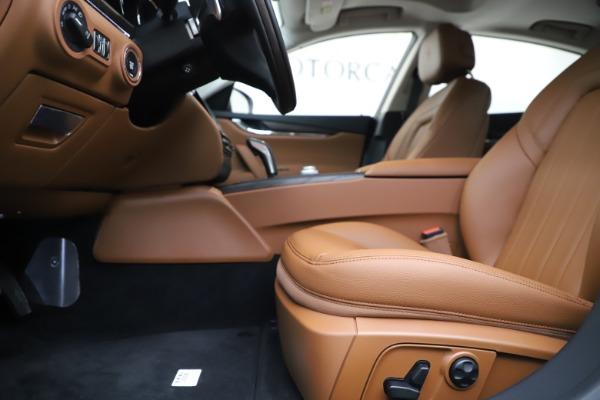 New 2019 Maserati Quattroporte S Q4 for sale $121,065 at Aston Martin of Greenwich in Greenwich CT 06830 14