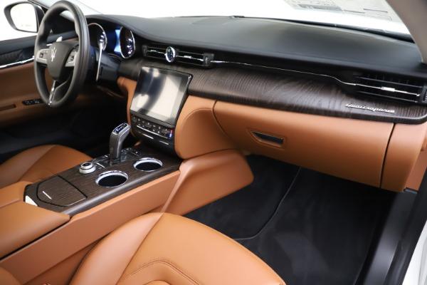 New 2019 Maserati Quattroporte S Q4 for sale $121,065 at Aston Martin of Greenwich in Greenwich CT 06830 22