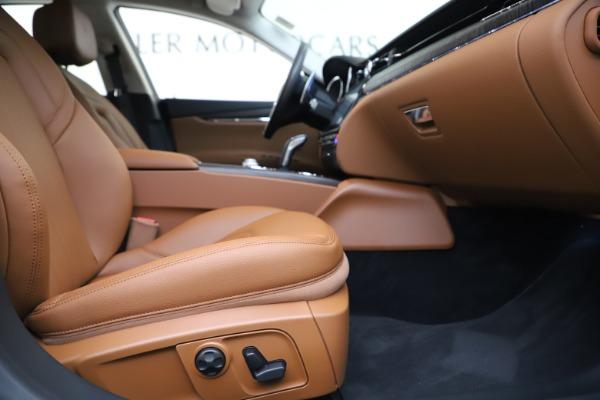 New 2019 Maserati Quattroporte S Q4 for sale $121,065 at Aston Martin of Greenwich in Greenwich CT 06830 23