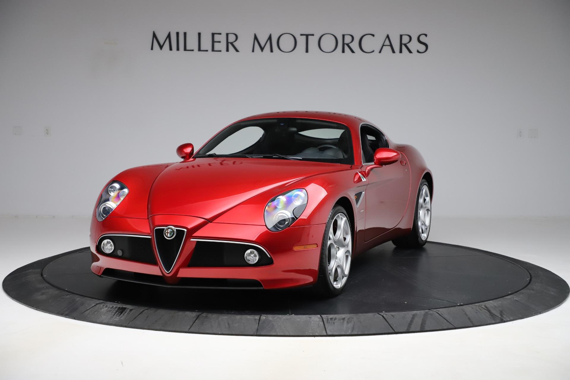 Used 2008 Alfa Romeo 8C Competizione for sale $337,900 at Aston Martin of Greenwich in Greenwich CT 06830 1