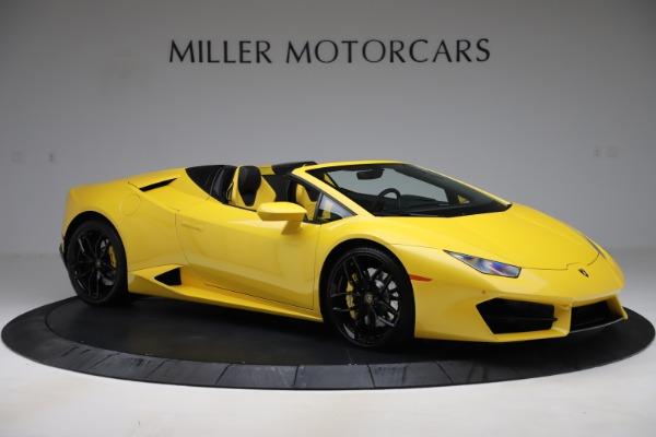 Used 2018 Lamborghini Huracan LP 580-2 Spyder for sale $203,900 at Aston Martin of Greenwich in Greenwich CT 06830 10