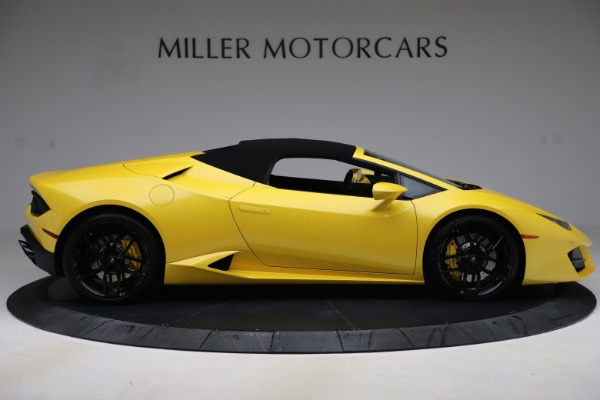 Used 2018 Lamborghini Huracan LP 580-2 Spyder for sale $203,900 at Aston Martin of Greenwich in Greenwich CT 06830 16