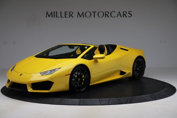 Used 2018 Lamborghini Huracan LP 580-2 Spyder for sale $203,900 at Aston Martin of Greenwich in Greenwich CT 06830 2