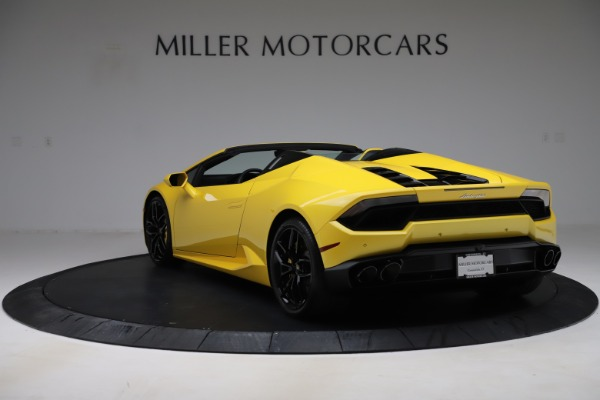 Used 2018 Lamborghini Huracan LP 580-2 Spyder for sale $203,900 at Aston Martin of Greenwich in Greenwich CT 06830 5
