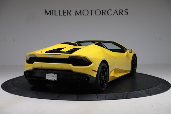 Used 2018 Lamborghini Huracan LP 580-2 Spyder for sale $203,900 at Aston Martin of Greenwich in Greenwich CT 06830 7