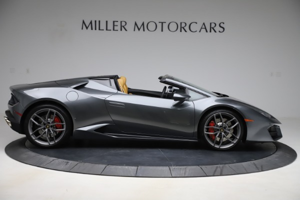 Used 2018 Lamborghini Huracan LP 580-2 Spyder for sale Sold at Aston Martin of Greenwich in Greenwich CT 06830 10