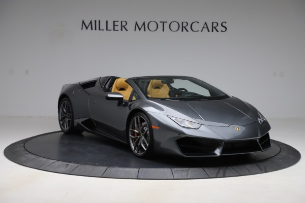 Used 2018 Lamborghini Huracan LP 580-2 Spyder for sale Sold at Aston Martin of Greenwich in Greenwich CT 06830 12