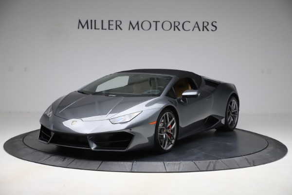 Used 2018 Lamborghini Huracan LP 580-2 Spyder for sale Sold at Aston Martin of Greenwich in Greenwich CT 06830 13