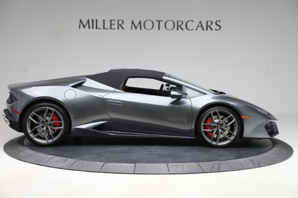 Used 2018 Lamborghini Huracan LP 580-2 Spyder for sale Sold at Aston Martin of Greenwich in Greenwich CT 06830 15