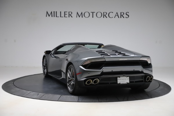 Used 2018 Lamborghini Huracan LP 580-2 Spyder for sale Sold at Aston Martin of Greenwich in Greenwich CT 06830 5