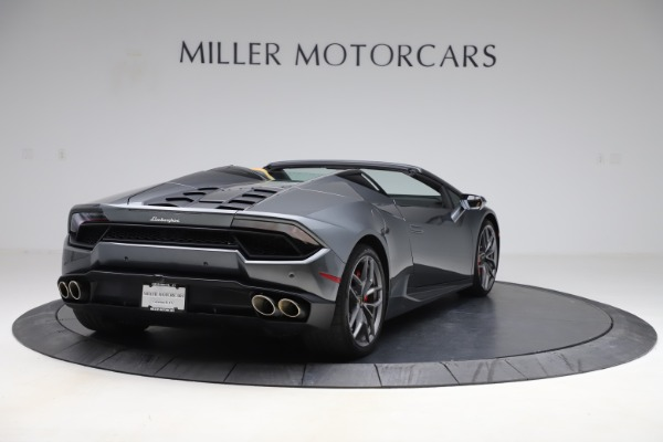 Used 2018 Lamborghini Huracan LP 580-2 Spyder for sale Sold at Aston Martin of Greenwich in Greenwich CT 06830 8