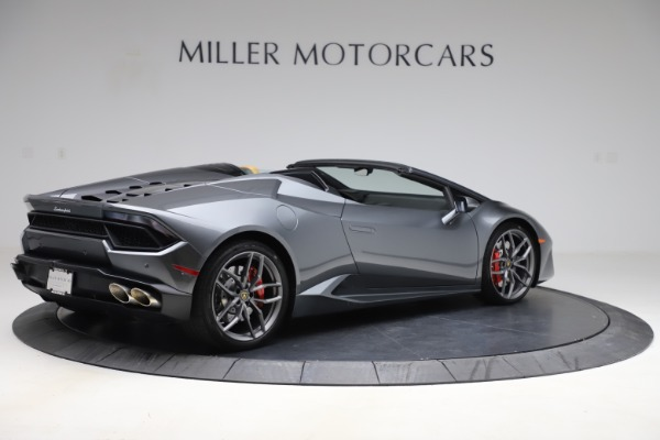 Used 2018 Lamborghini Huracan LP 580-2 Spyder for sale Sold at Aston Martin of Greenwich in Greenwich CT 06830 9