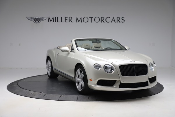 Used 2015 Bentley Continental GTC V8 for sale Sold at Aston Martin of Greenwich in Greenwich CT 06830 12