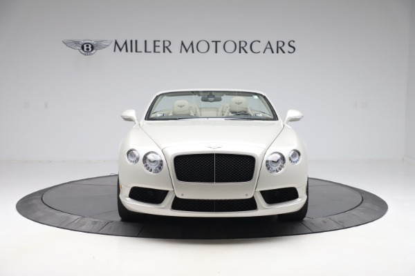 Used 2015 Bentley Continental GTC V8 for sale Sold at Aston Martin of Greenwich in Greenwich CT 06830 13