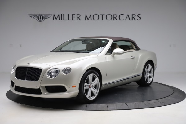 Used 2015 Bentley Continental GTC V8 for sale Sold at Aston Martin of Greenwich in Greenwich CT 06830 14