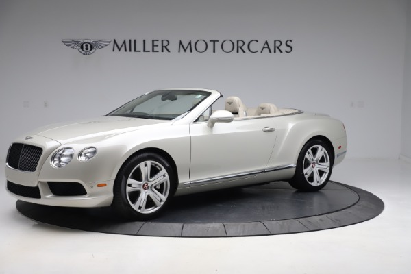 Used 2015 Bentley Continental GTC V8 for sale Sold at Aston Martin of Greenwich in Greenwich CT 06830 2