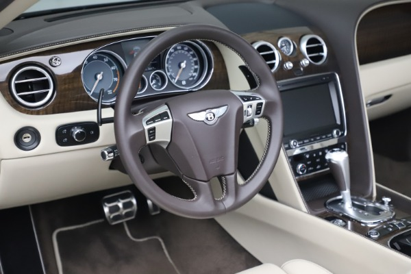 Used 2015 Bentley Continental GTC V8 for sale Sold at Aston Martin of Greenwich in Greenwich CT 06830 26