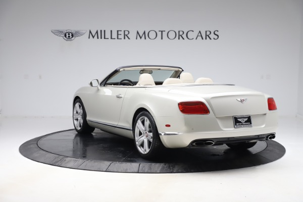 Used 2015 Bentley Continental GTC V8 for sale Sold at Aston Martin of Greenwich in Greenwich CT 06830 4